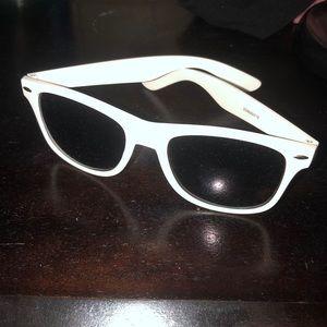 3/$20 White Perrier Sunglasses